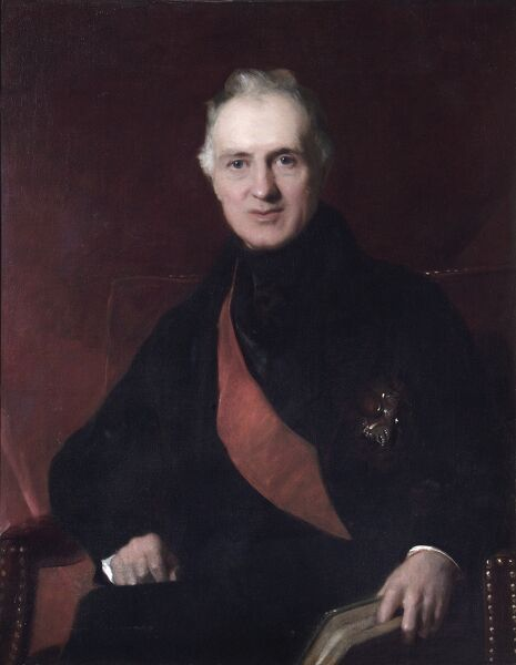 "APSLEY HOUSE, London. ""General Sir George Murray"" c.1840s (1772-1846) by John Prescott KNIGHT (1803-1881). WM 1538-1948"