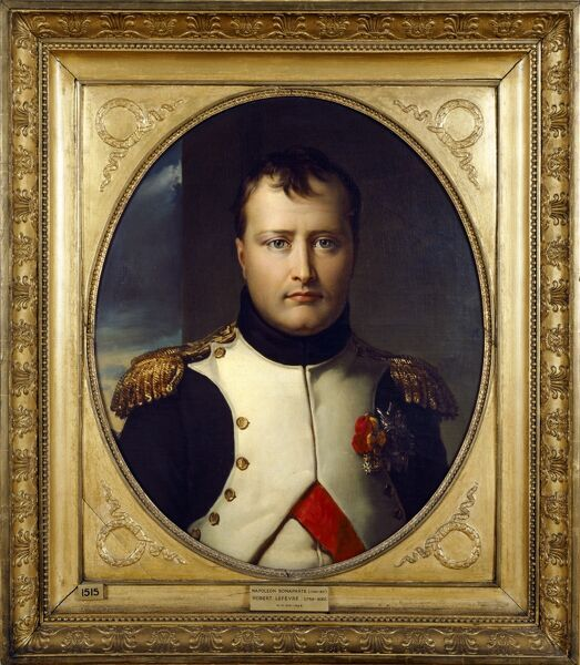 "APSLEY HOUSE, London. "" Napoleon Bonaparte "" portrait by Robert LEFEVRE (1755-1830)"