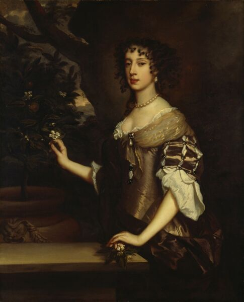 "KENWOOD HOUSE, SUFFOLK COLLECTION, London.'""Queen Mary of Modena' c.1673-80 by Sir Peter LELY (1618-80)"