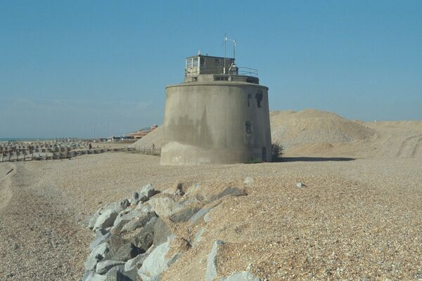 Situated North of Langney Point, Eastbourne, It was used for defence purposes during the 1939/45 war. IoE 293529