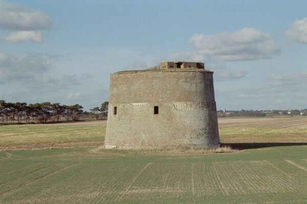 Defensive tower c.1810-1812. IoE 285373