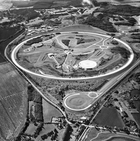 Millbrook Proving Ground, Bedfordshire. Millbrook is a dedicated automotive testing facility built by Vauxhall and Bedford in the 1960s