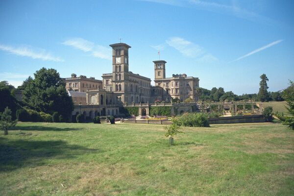 Osborne House. Grade I listed residence of Queen Victoria. IoE 419663
