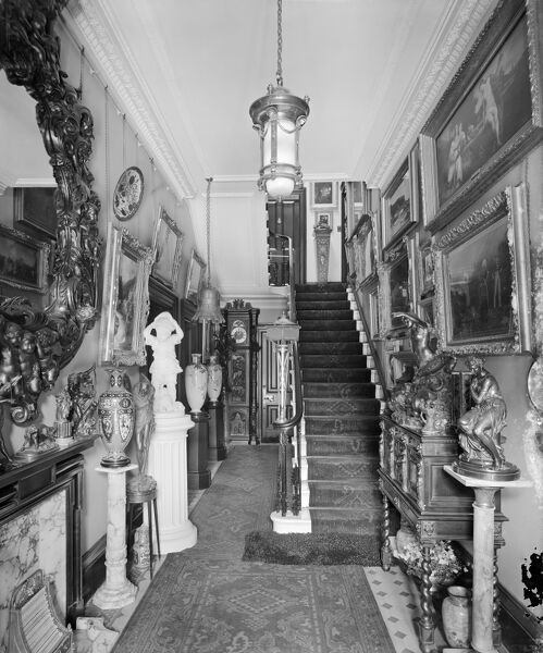 Entrance Hall, Park Lea, Fulwood Park, Aigburth, Liverpool