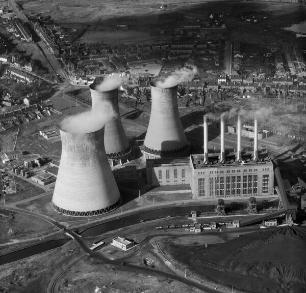OCKER HILL POWER STATION, Tipton, Staffordshire