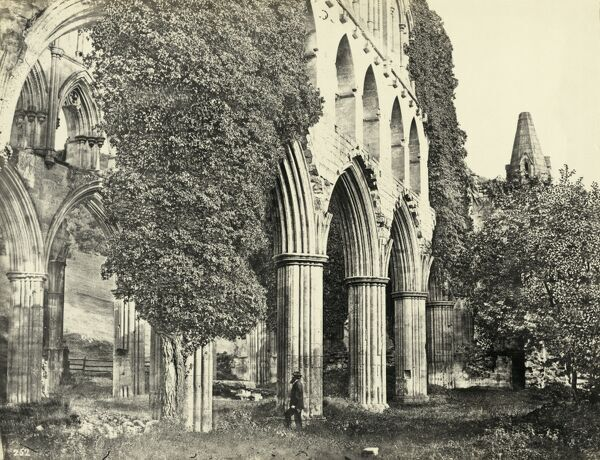 "Rievaulx Abbey, North Yorkshire, 1850-€""1910"