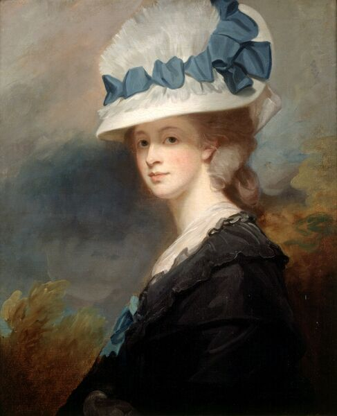 "KENWOOD HOUSE, THE IVEAGH BEQUEST, London. "" Mrs Musters "" (Sophia Catherine Heywood) 1779-80 by ROMNEY George (1734-1802)"