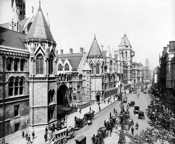 ROYAL COURTS OF JUSTICE, The Strand, London