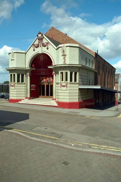 One of the earliest purpose built cinemas in the country still in use. IoE 352257