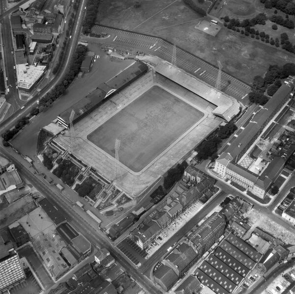 ST JAMES PARK, Newcastle-upon-Tyne. Aerial view of the Home of Newcastle United Football Club, photographed in 1968. Aerofilms Collection (see Links)