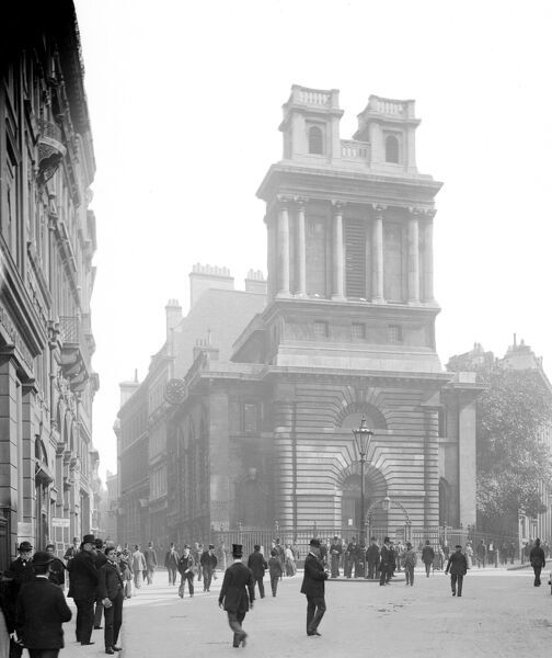 St Mary Woolnoth, Lombard Street, City of London