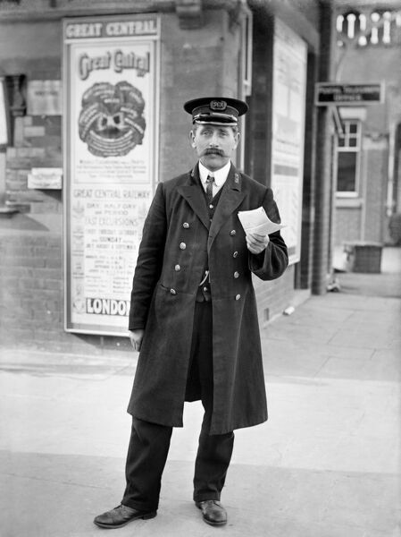 STATION MASTER, Finmere Station, Oxfordshire