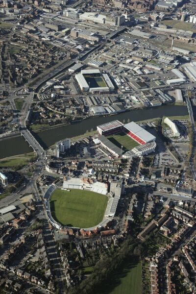 TRENT BRIDGE CRICKET GROUND, Nottingham. Trent Bridge was first used for cricket in 1838 and is the third oldest cricket ground in the world. It is the home of Nottinghamshire County Cricket Club. The first test match at Trent Bridge between England