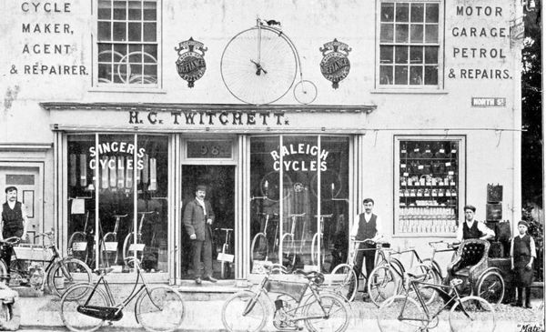 A BICYCLE SHOP
