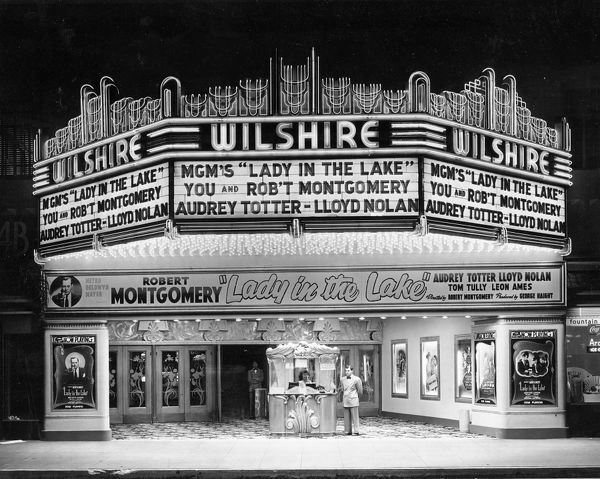 WILSHIRE CINEMA BEVERLY HILLS LOS ANGELES USA 30.1.1947