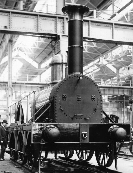 2-2-2 broad gauge locomotive