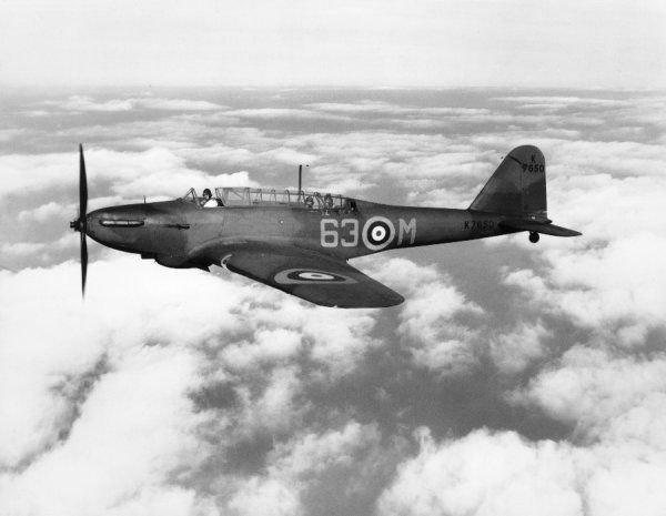 Fairey Battle I of 63 Squadron RAF, Upwood, 1938