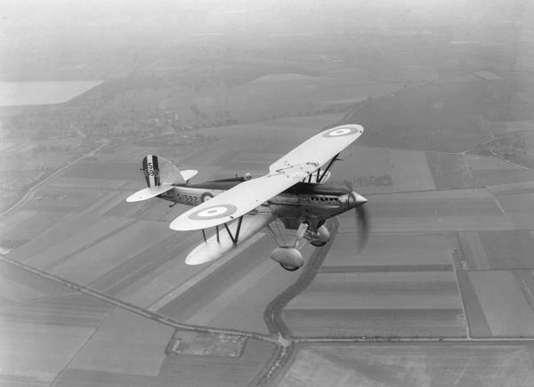 Fairey Firefly III rehearsing for RAF Display, June 1932