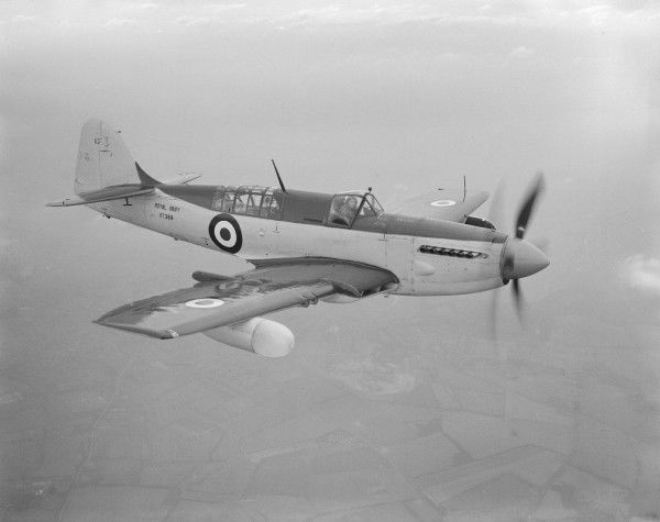 Fairey Firefly V (VT369) in flight 27 January 1948