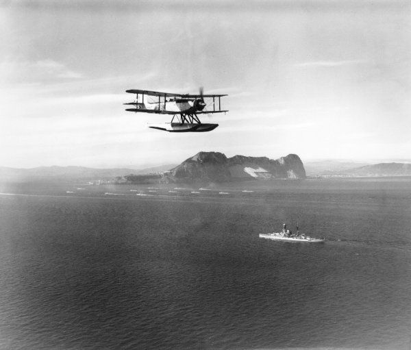 Fairey Seal of 821 Squadron FAA, Gibraltar, 1935