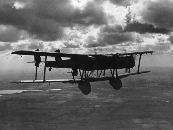 Handley Page Heyford Ia of 10 Squadron, 1935