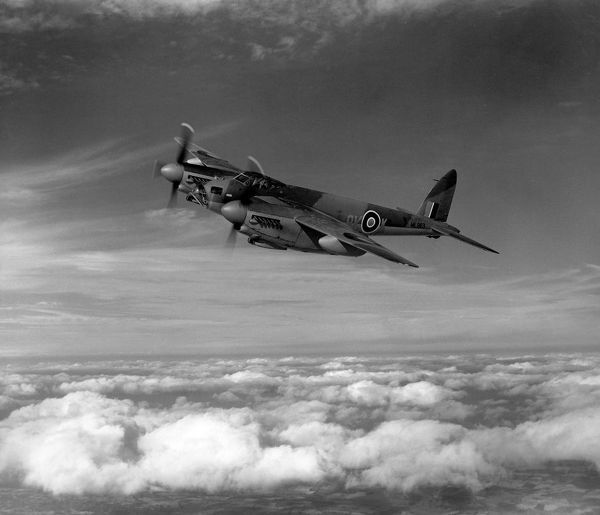De Havilland Mosquito B.XVI of 571 Squadron, RAF, 30 September 1944