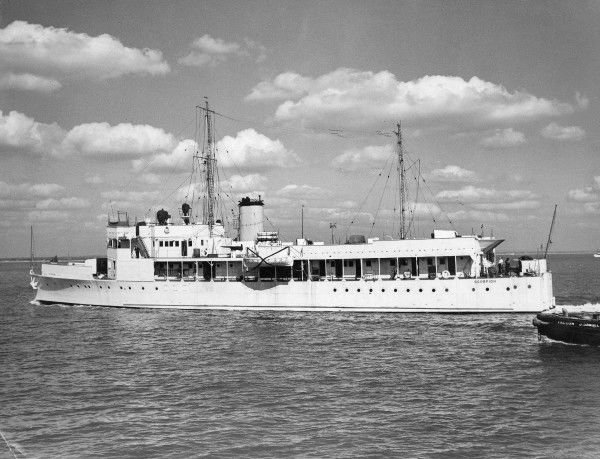 River gunboat HMS Scorpion