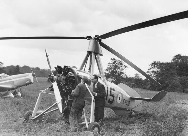 Juan de la Cierva was a pioneer of autogiros which were the first successful rotary-winged aircraft. They are still manufactured today, but their popularity declined with the development of the helicopter
