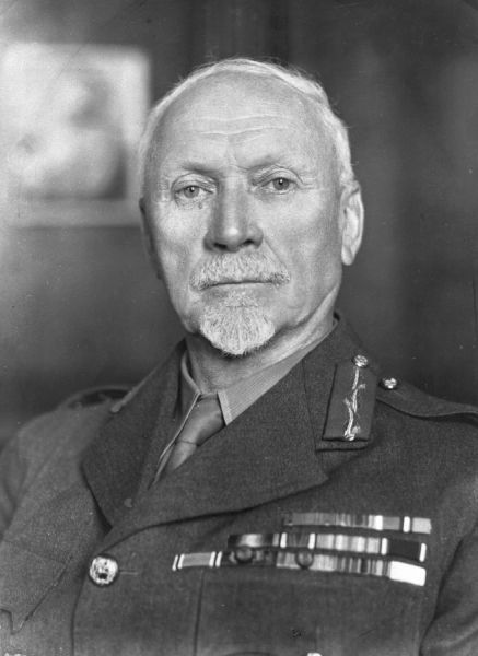Lieutenant-General Jan Christian Smuts, author of the Smuts Report which led to the formation of the Royal Air Force