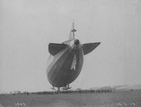 The British R-34 was based closely on the Zeppelin L33 and in 1919 made the first double crossing of the Atlantic Ocean