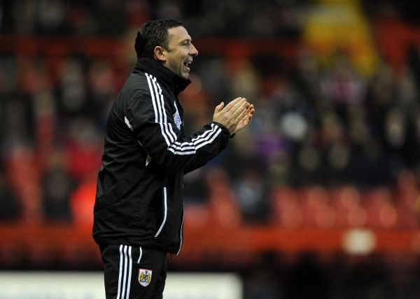 Bristol City Manager, Derek McInnes - Photo mandatory by-line: Joe Meredith/JMP - Tel: Mobile:07966 386802 12/01/2013 - Bristol City v Leicester City - SPORT - FOOTBALL - Championship - Bristol - Ashton Gate Stadium