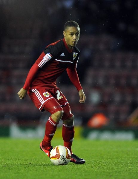 Bristol City's Bobby Reid - Photo mandatory by-line: Joe Meredith/JMP - Tel: Mobile: 12/01/2013 - Bristol City v Leicester City - SPORT - FOOTBALL - Championship - Bristol - Ashton Gate Stadium