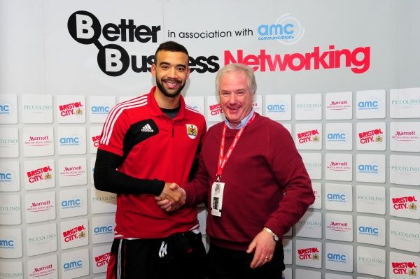 Man of the Match presentation - Photo mandatory by-line: Dougie Allward/JMP - Tel: Mobile: 09/02/2013 - SPORT - FOOTBALL - Ashton Gate - Bristol - Bristol City V Nottingham Forest - Npower Championship