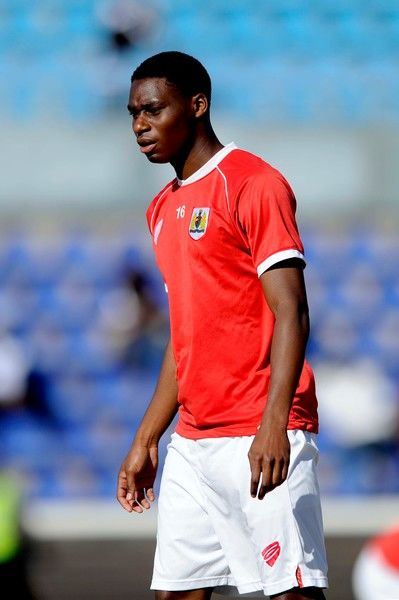 Bristol City's Jordan Wynter - Photo mandatory by-line: Dougie Allward/JMP - Mobile: 21/07/2014 - SPORT - FOOTBALL - Gaborone - Botswana - Extension Gunners v Bristol City
