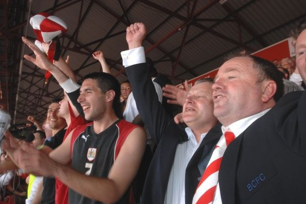 Gary Johnson Steve Lansdown-Promotion