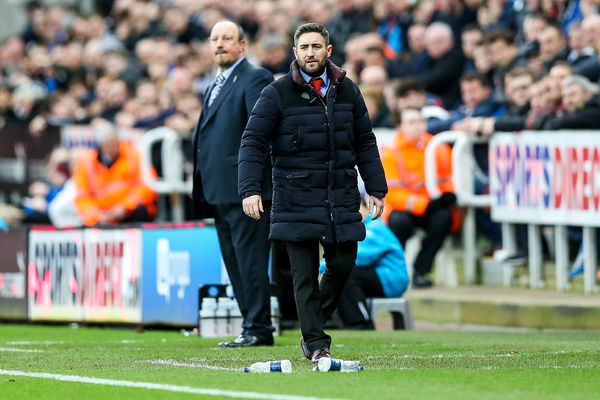 Bristol City manager Lee Johnson - Rogan Thomson/JMP - 25/02/2017 - FOOTBALL - St James' Park - Newcastle, England - Newcastle United v Bristol City - Sky Bet EFL Championship
