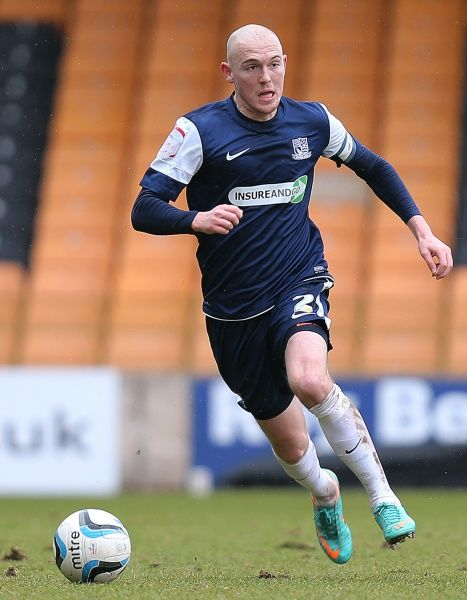 Sean Clohessy (Southend United) - Port Vale vs. Southend United - npower League Two at Vale Park, Burslem - 09/03/2013 - Mandatory Credit: Pixel8 Photos/Michael Whitefoot