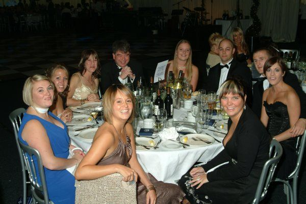 Southend United Blues Fans: Centenary Ball: Table Photos