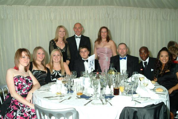 Table Photos. Southend United Blues Fans: Centenary Ball: Table Photos