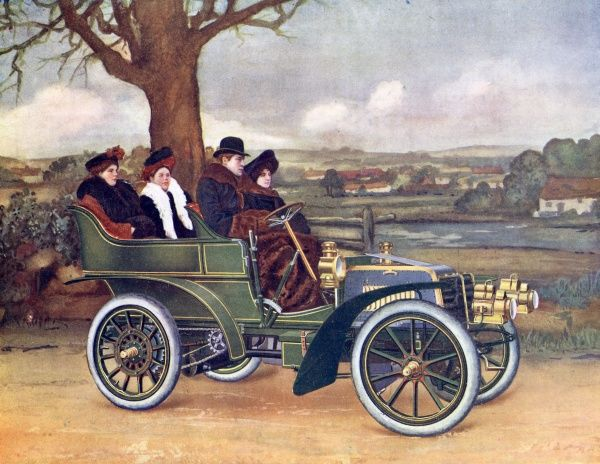 10hp Star car, 1902 Date: 1902