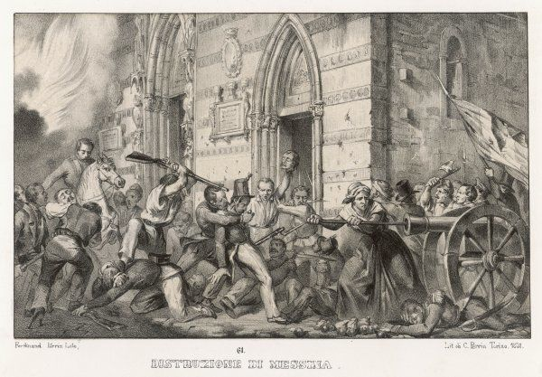 The destruction of Messina