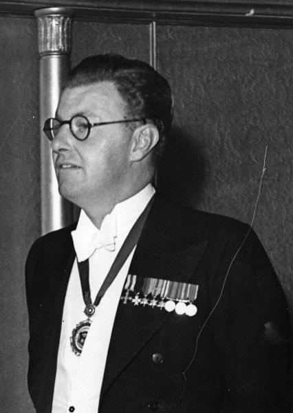 Edward John Stanley, 18th Earl of Derby (1918-1994). Lord Lieutenant of Lancashire from 1951-1968. Established Knowsley Safari Park at his Knowsley Hall estate in 1971