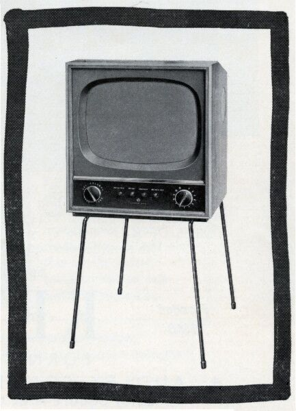 1950s television set Date: 1957