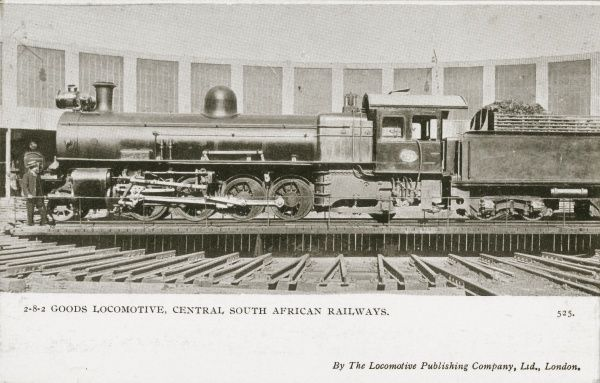 2-8-2 goods locomotive no 729 Date