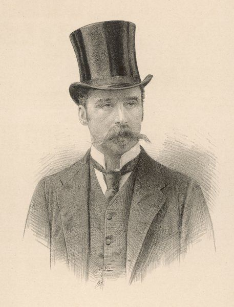 LOWRY EGERTON COLE, 4TH EARL OF ENNISKILLEN - Victorian aristocrat (this picture is dated 1889)