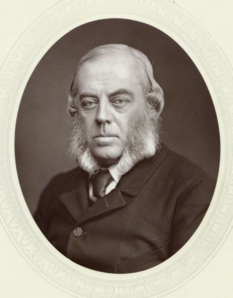 JOHN WINSTON SPENCER 7th Duke of Marlborough Prominent Conservative Politician. His 3rd son was Lord Randolph Churchill