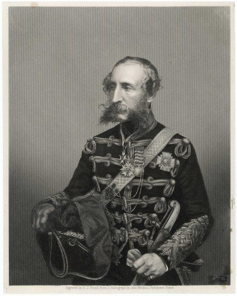 James Thomas Brudenell 7th earl of CARDIGAN military, notably at the battle of Balaklava during the Crimea War