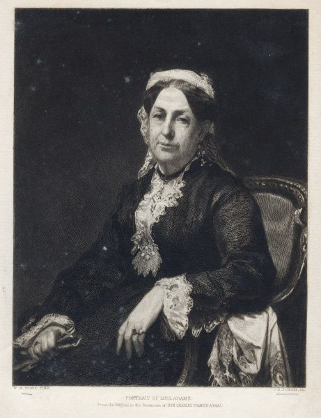 Abigail Brown Adams (1809-1889) born Brooks, married to Charles Francais Adams Sr. Date