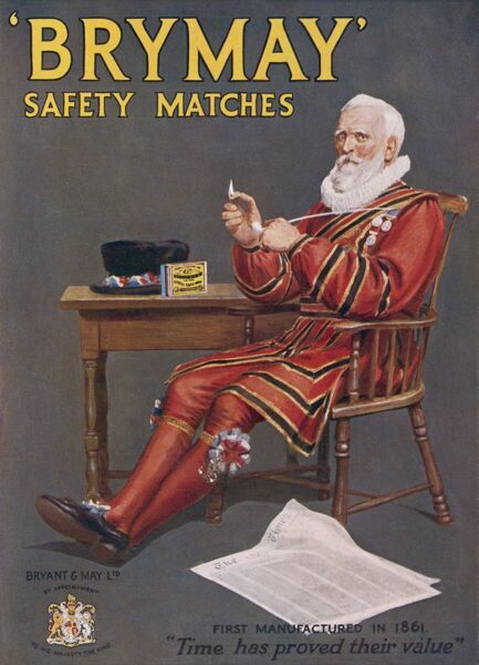 Brymay Safety Matches