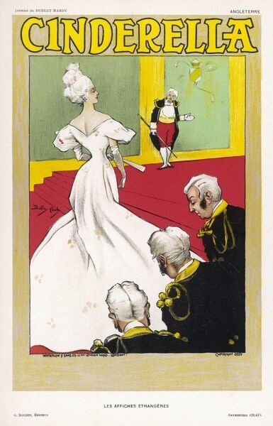 Cinderella arrives at the ball, the footmen bow deferentially, the major-domo waves her in